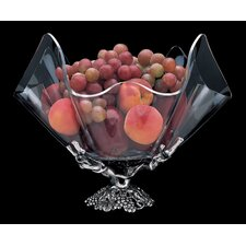 "Grape Stand Acrylic 14"" Serving Bowl"