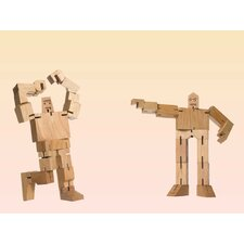 40 Piece Micro Julien and Guthrie Cubebot Set