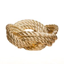 Reality Knot Rope Decorative Bowl I