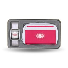 <strong>Sparo Watch</strong> NFL Women's Watch and Wallet Set