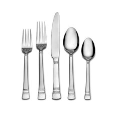 International Silver Kensington 53 Piece Flatware Set