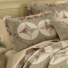 <strong>Nostalgia Home Fashions</strong> Victorian Crochet Cotton Sham
