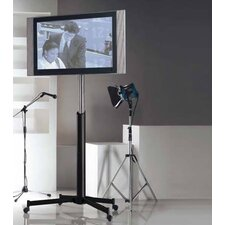 "Portable 55"" TV Mount On Wheels"