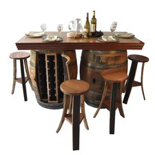 <strong>Napa East Collection</strong> Wine Barrel Bar / Island Set