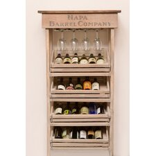 Vineyard 24 Bottle Wine Rack and Cabinet