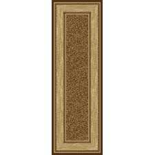 Ottohome Choclate Bordered Rug