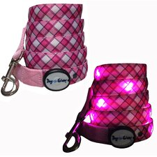 Plaid Led Lead Pink