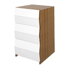 Planar 3 Drawer Nighstand