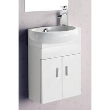 "7"" Melamine Wall Hung Vanity Set"