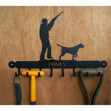 Man Hunting Tool Rack in Black