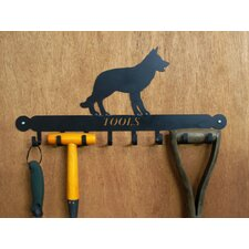 Alsatian Tool Rack in Black