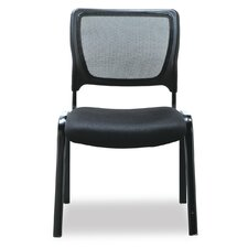Office Reception Chair with Mesh Back