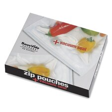 Zip Pouch and Vacuum Seal