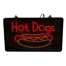 LED Hot Dog Sign