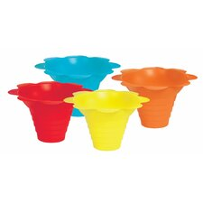 <strong>Paragon International</strong> Flower Sno Cone Drip Cup (Set of 100)