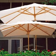 <strong>Dayva International</strong> 10' Huntington Rectangular Market Umbrella