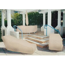 Tron-weve Large Wicker Loveseat Cover