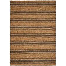 Cliff Stripe Brown / Tan Area Rug