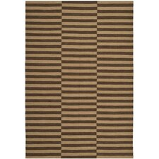 River Reed Stripe Timber Rug