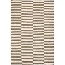 Cameron Stripe Sand / Ivory Area Rug