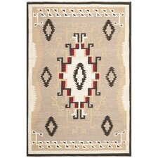 High Mountain Brown/Tan Southwesternl Area Rug