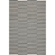 Cameron Stripe Coal Surf Rug