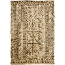 Kenya Cream/Chocolate Rug