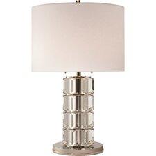 "Brookings 29"" H Table Lamp Drum Shade"