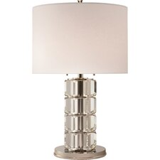 """Brookings 29"""" H Table Lamp with Drum Shade"""