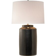 "Carter Apothecary Pot 36.5"" H Table Lamp with Drum Shade"