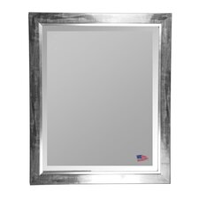 Jovie Jane Black Smoke with Silver Liner Wall Mirror