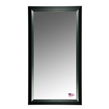 Jovie Jane Solid Black Angle Tall Mirror