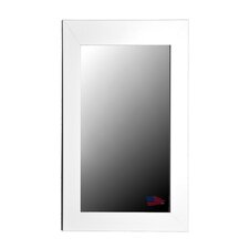 Jovie Jane Glossy White Wide Tall Mirror