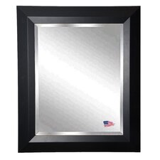 Jovie Jane Solid Black Angle Wall Mirror