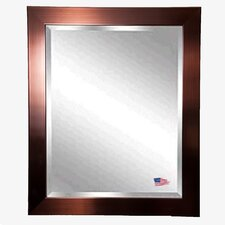 Jovie Jane Shiny Bronze Wall Mirror
