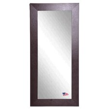 Jovie Jane Wide Brown Leather Tall Mirror