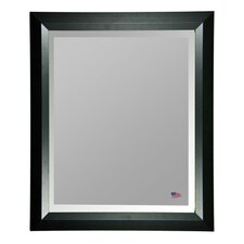 Jovie Jane Solid Black Angle Wall Mirror