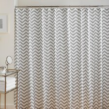 Buckley Cotton Chevron Shower Curtain