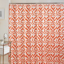 Newport Gate Cotton Flamingo Shower Curtain
