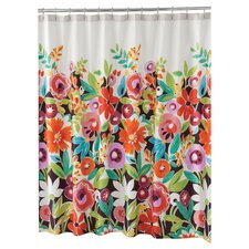 Grandiflora Cotton Shower Curtain