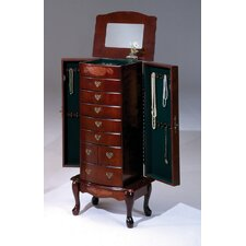 <strong>Bernards</strong> Jewelry Armoire with Mirror