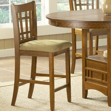 "Randolph 24"" Bar Stool with Cushion (Set of 2)"