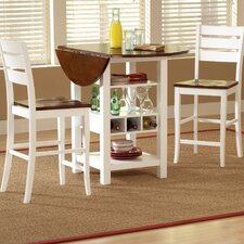 <strong>Bernards</strong> Ridgewood 3 Piece Pub Table Set