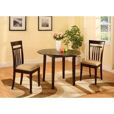 Merlot 3 Piece Dining Set