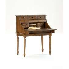 Ornate Secretary Desk