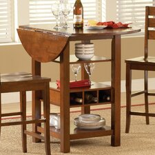Ridgewood Counter Height Pub Table with Optional Stools