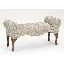 Traditional Boudoir Upholstered Bench