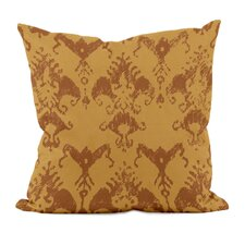 <strong>E By Design</strong> Floral Motifs Decorative Pillow