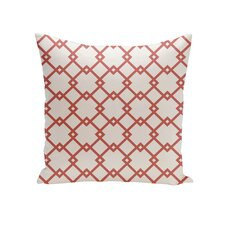 Holiday Brights Geometric Pillow