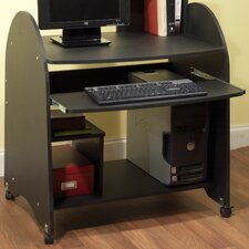 <strong>TMS</strong> Computer Workstation in Black